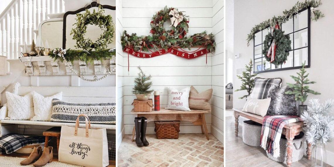 Az előszoba és a bejárat is legyen ünnepi! A kedvenc karácsonyi díszítéseink
