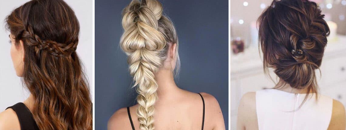 Bámulatos fonott frizurák, 5 perc alatt – hosszú és félhosszú hajra