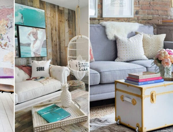 Bőröndöt, térképet elő! Trendi utazás-ihlette dekorációk az otthonodba