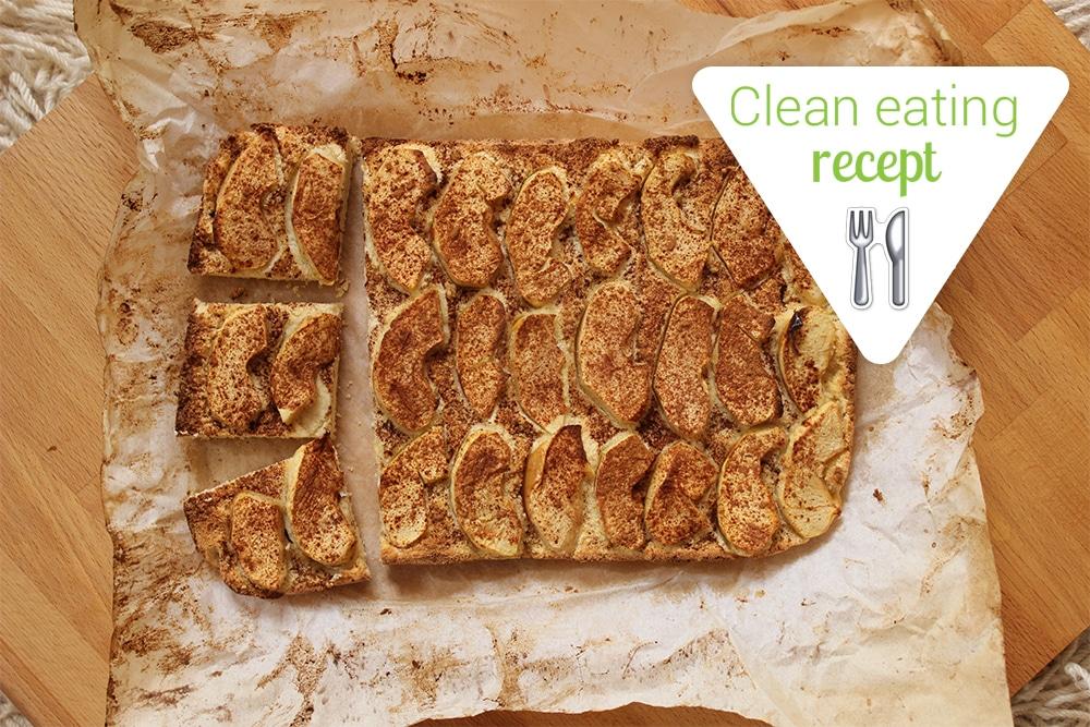 Clean Eating recept: Almás-fahéjas pite diétásan