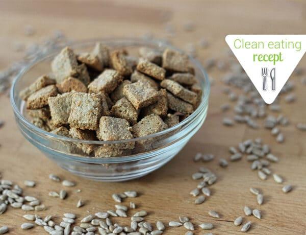 Clean Eating recept: Lisztmentes sajtos kréker szilveszterre