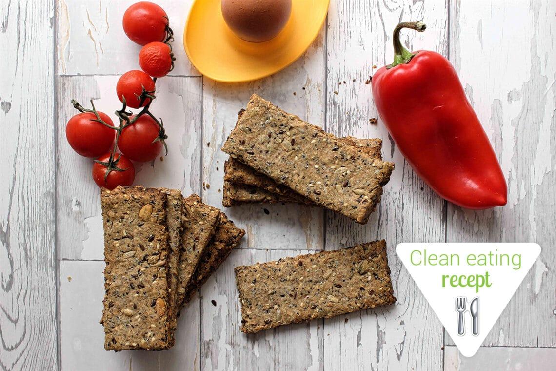 Clean Eating recept: Sokmagos ropogós kenyér