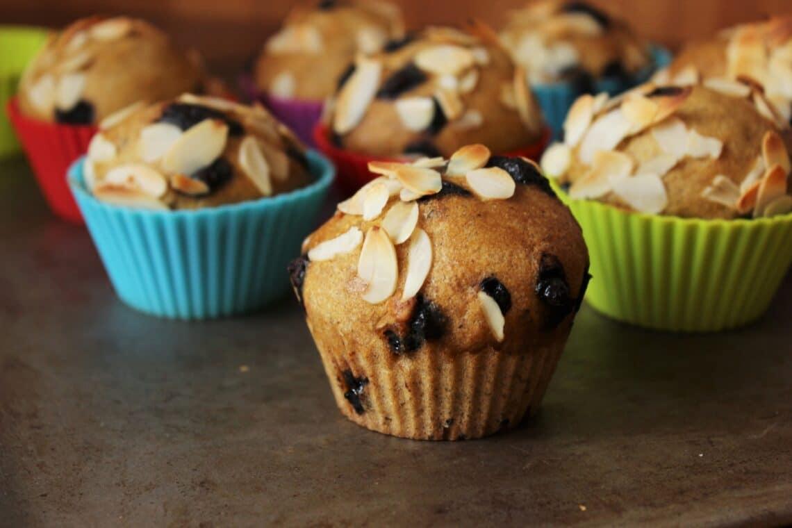 Clean Eating recept: Szénhidrát csökkentett csokis-mandulás muffin