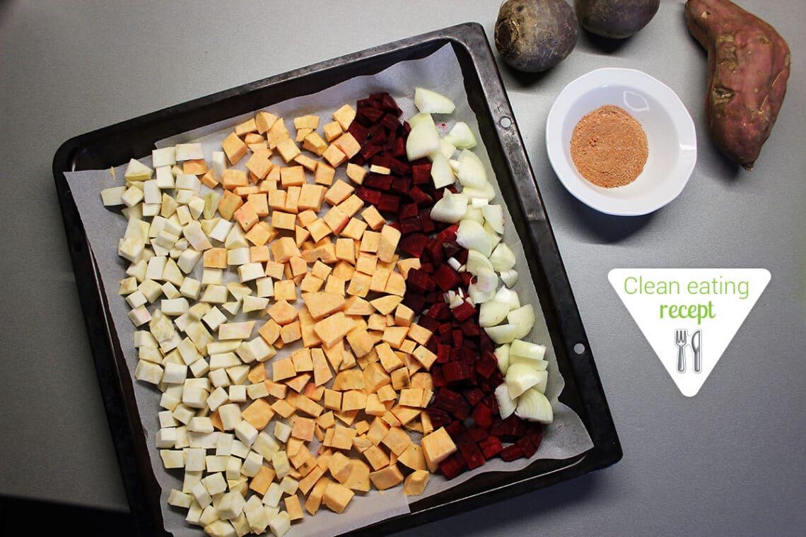 Clean Eating recept: Téli fűszeres sültzöldségek