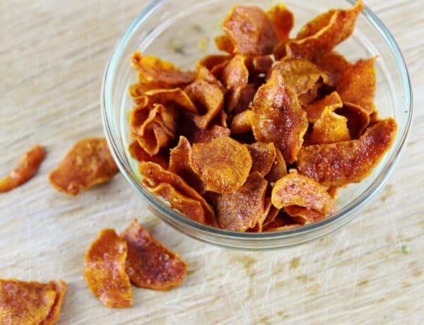Clean nassolnivaló: Egészséges házi chips recept