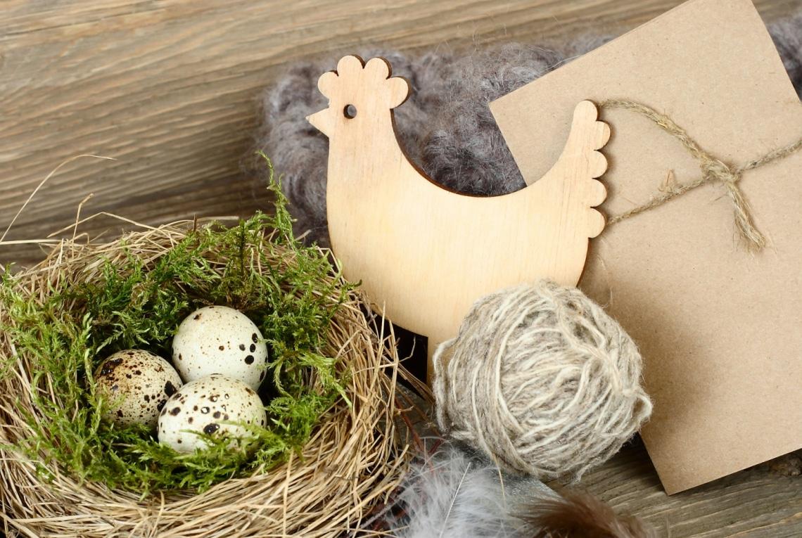 Csak néhány alapanyag kell ehhez a dekorációhoz: csodálatos tavaszi díszek készülhetnek belőle