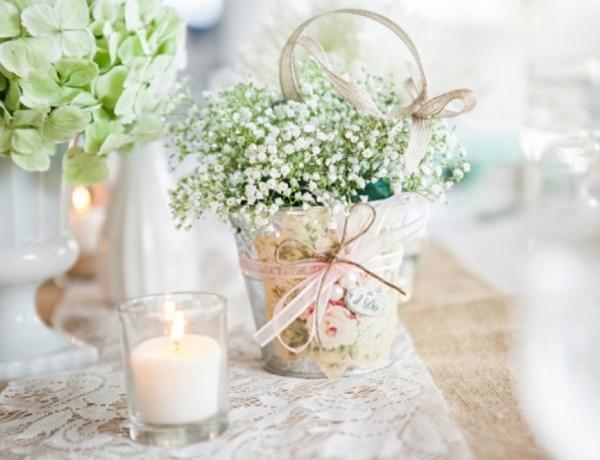 Csináld-magad esküvői dekorációk, ha nem szeretnéd másra bízni a dekort