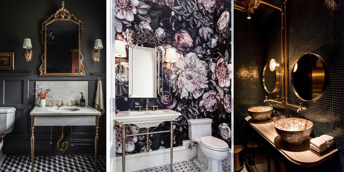 Csodásan mutat a fekete a fürdőszobákban is – A 10 legszebb inspiráció a felújításhoz