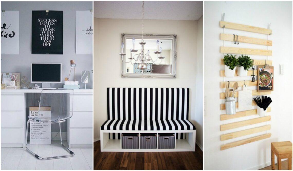 DIY IKEA-trükkök: készíts egyedi bútort a tucatcuccokból