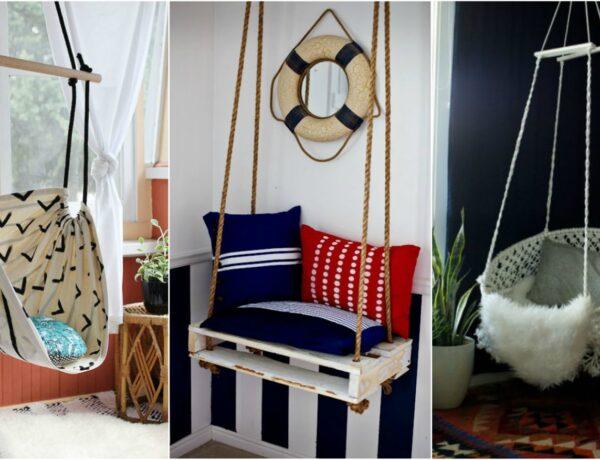 DIY függőszékek, amiket azonnal akarsz majd a lakásodba