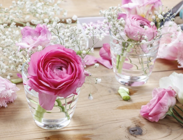 Dekorálj csak virágokkal! Gyönyörű tavaszi lakásdekorációk