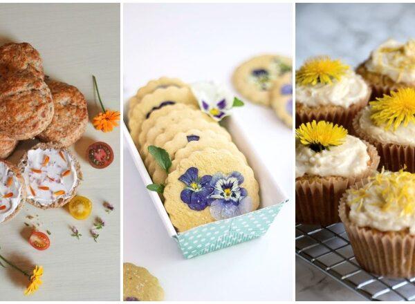 Ehető virágok – Tavaszi salátákra, szendvicsekre, húsokhoz és desszertekhez