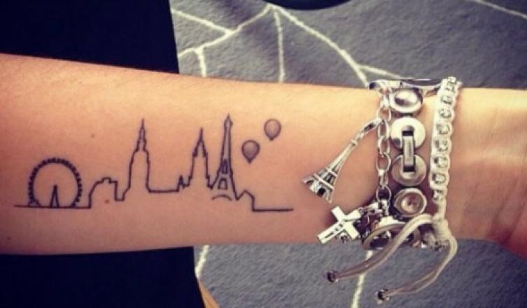A legszebb utazás inspirálta tetoválások