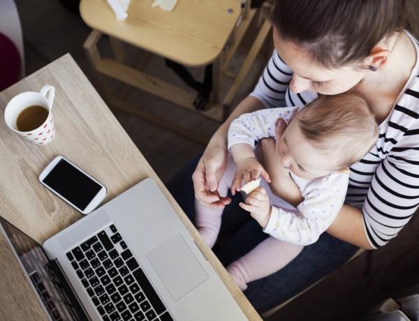 Otthon a gyerekkel keményebb meló, mint bejárni dolgozni