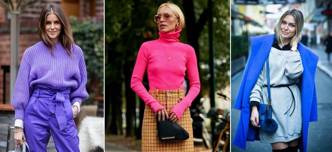 Ezek az erőteljes színek lesznek idén télen divatban – Nőies outfitek