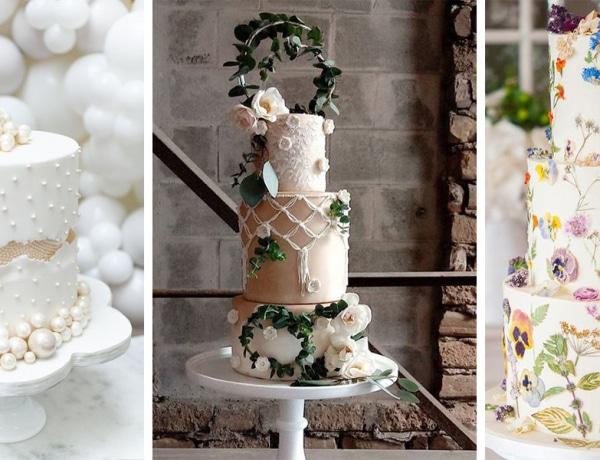 Ezek lesznek az idei év legmenőbb esküvői tortái