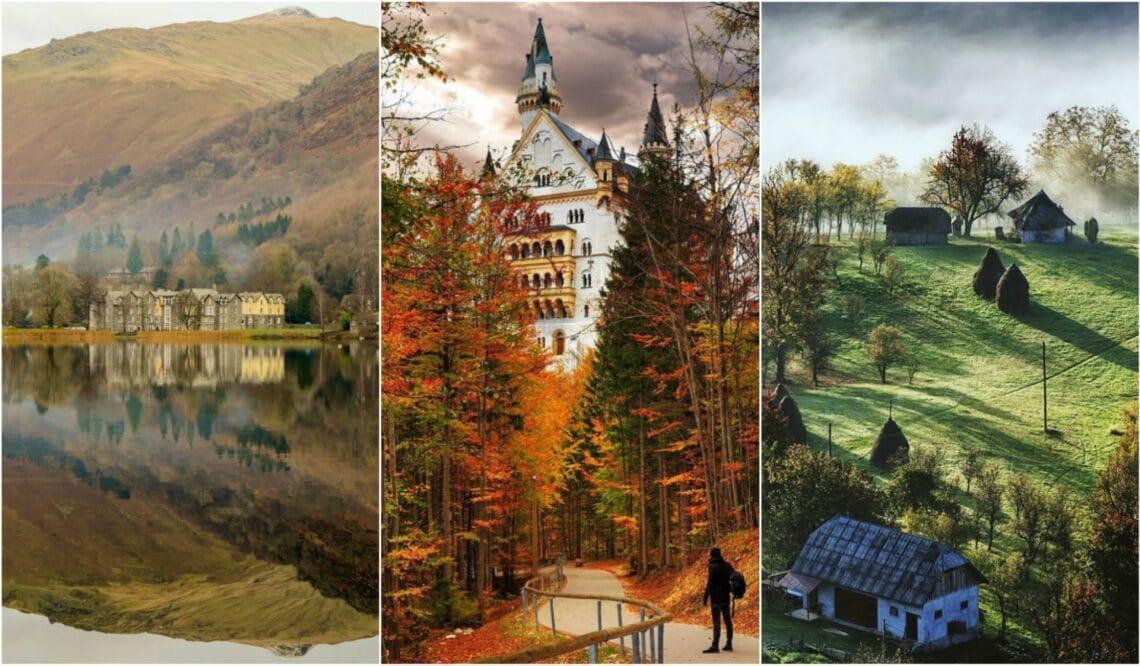 Ősszel a legszebbek a következő európai úti célok