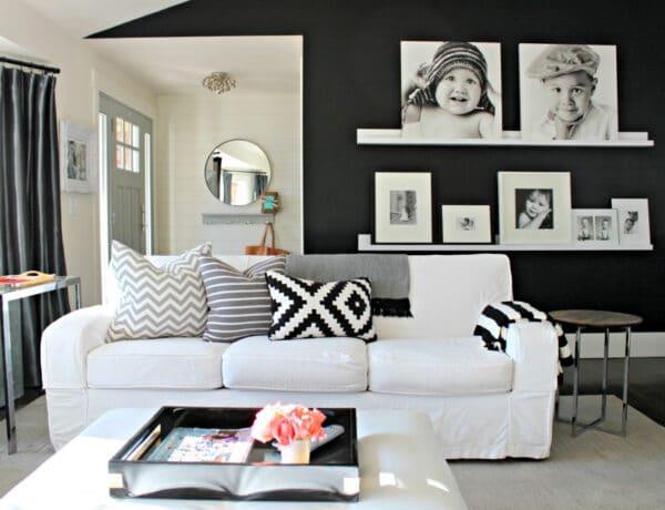 Fekete falak: szokatlan lakberendezési trend, ami jobban néz ki, mint elsőre hinnéd