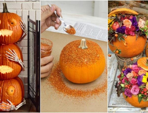 Feldobnád a faragott tököt? 5 szokatlan, de jópofa ötlet Halloweenre