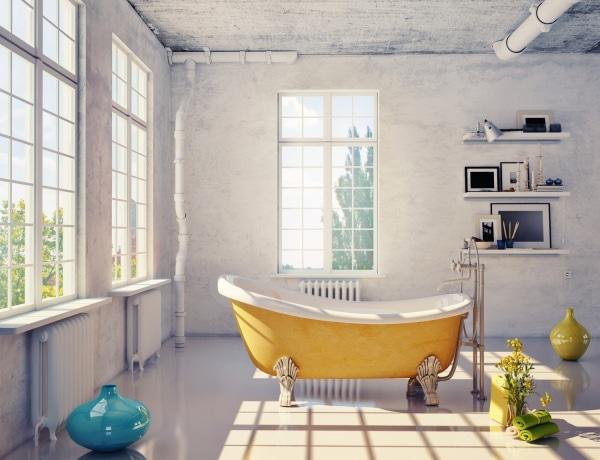Feng shui a fürdőszobában: fordítsd javadra az elemek hatását