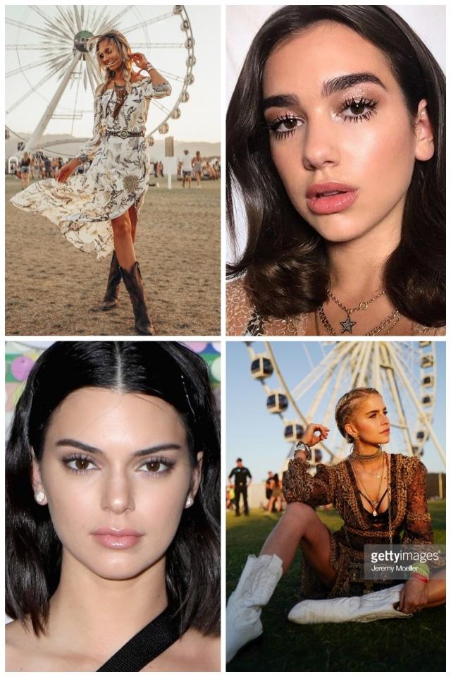 Fesztivál smink trendek 2018 + Step by Step smink Kardos Juli sminkestől