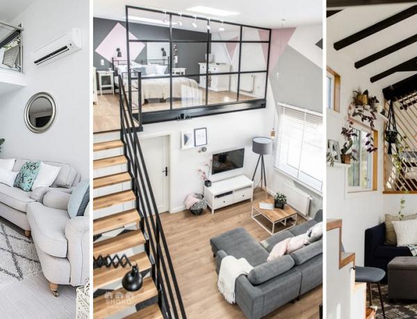 Galériaszint a lakásban: 5+1 mesés ötlet és elrendezés