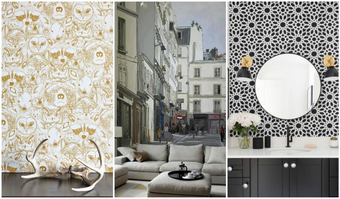 Gyönyörű és különleges tapéták, ha unod a fehér falakat