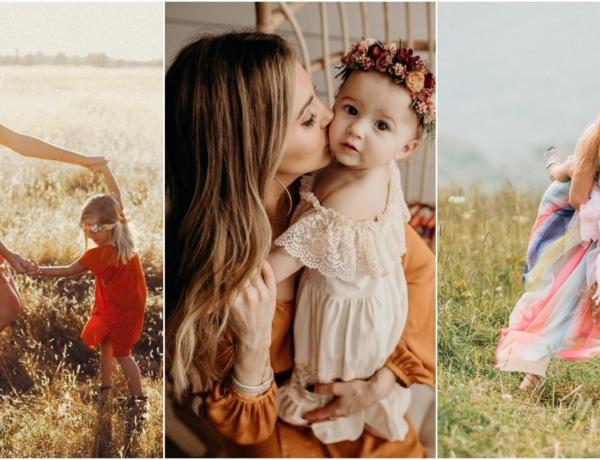 Gyönyörű anya-lánya fotók, amiket te is el akarsz majd készíteni
