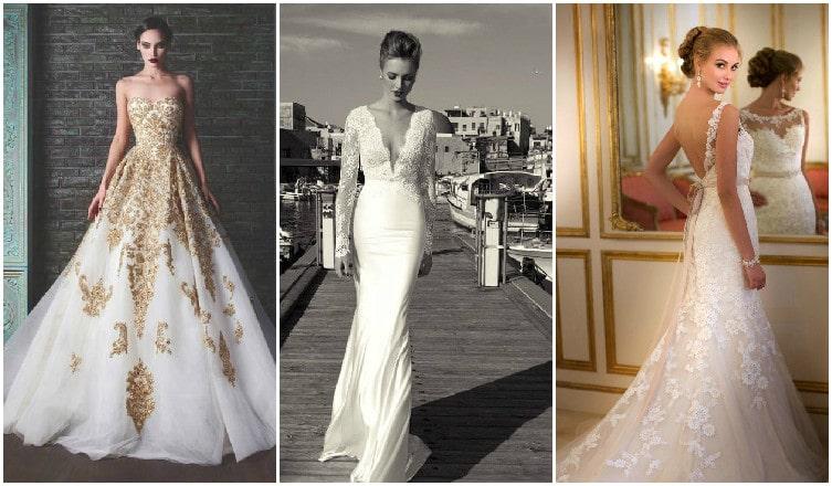 Gyönyörű menyasszonyi ruhák csipkéből, ha romantikus fazont keresel