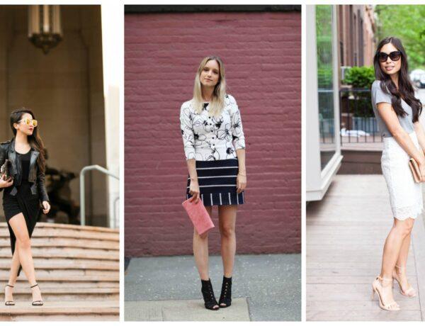 Gyönyörű szoknyás szettek a bloggerináktól