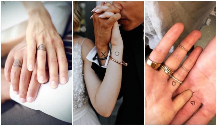 Gyűrű helyett tetoválás? 10 pár, aki tényleg komolyan vette az örökkét