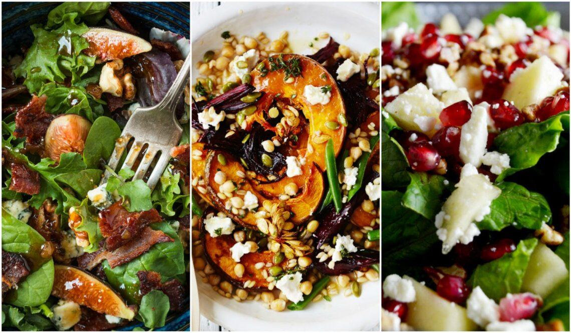 Gyors őszi saláták, amiket a munkába is magaddal vihetsz