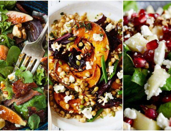 5 színes őszi saláta, amit a munkába is magaddal vihetsz