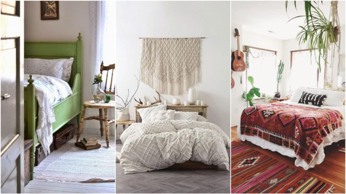 Hálószoba egyszerűen és olcsón, 5 vagány stílusban