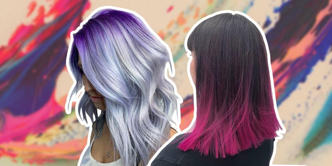 Hódítanak 2020-ban a színes hajak! A legkülönlegesebb hajszín árnyalatok