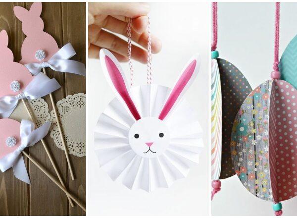 Húsvéti dekor fillérekből – 8 kreatív ötlet papír felhasználásával