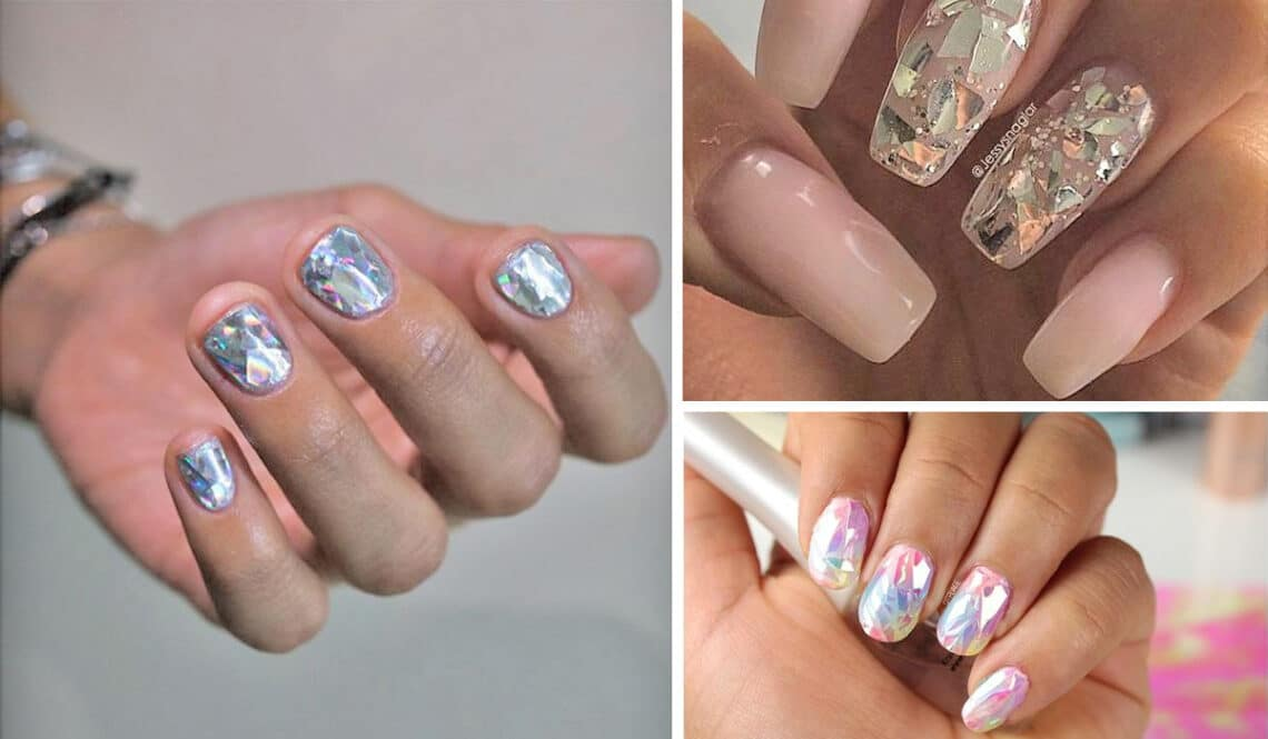 Ha meglátod az év manikűrtrendjét, te is ilyet akarsz majd: varázsolj gyémántot a körmeidre!