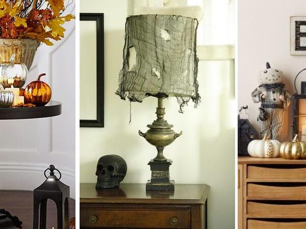 Halloween-i lakásdekoráció ötletek a visszafogottól az impozáns kialakításokig