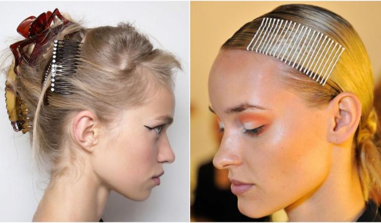 10 menő frizura, csatok és hajdíszek segítségével