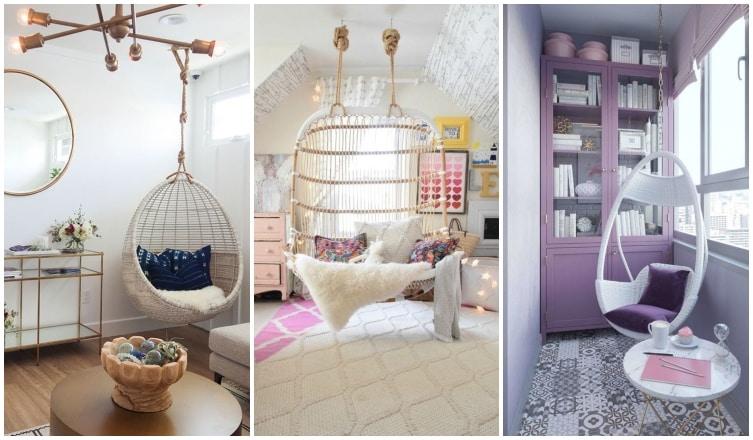 Hintázz a lakásban! Beltéri függőfotelek és -ágyak otthoni relaxáláshoz