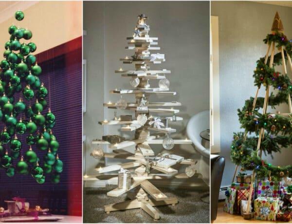 Igazi fenyő helyett: 6 alternatív karácsonyfa, ami után nem kell felporszívózni