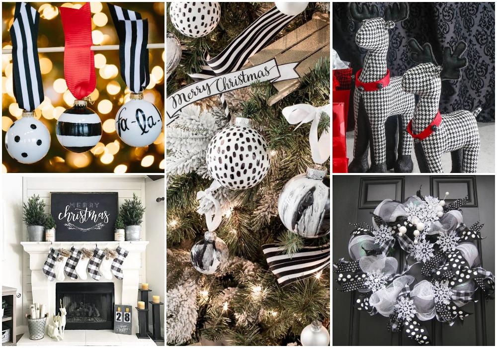Ilyen, amikor feketével dekorálunk karácsonykor – Varázslatos inspirációk