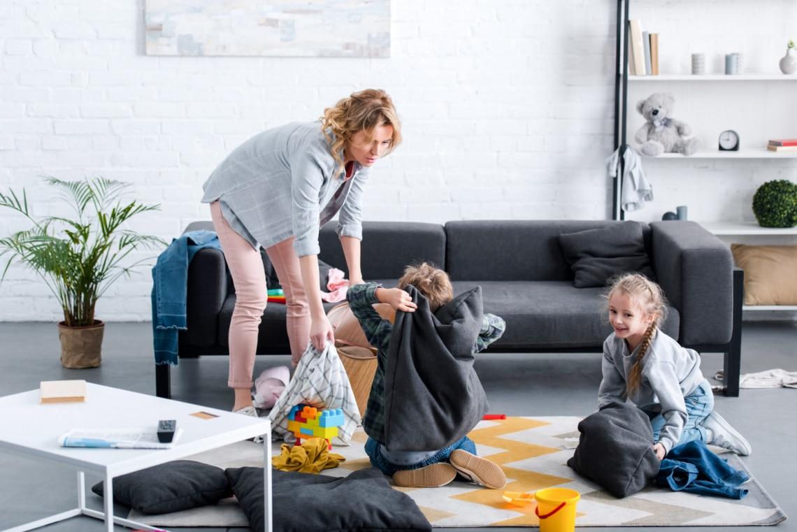 Ilyen egy kis lakásban erkély nélkül, 2 gyerekkel: egy anyuka beszámolója