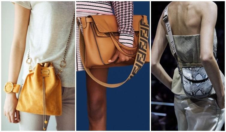 Imádjuk a 2019-es táskatrendeket – szögletes formák, rövid pántok, merész színek