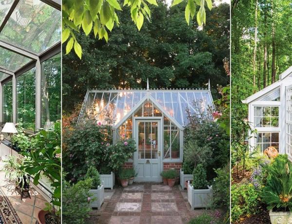 Inspiráló üvegházak, amelyekben egész évben élvezhetnéd a napfényt