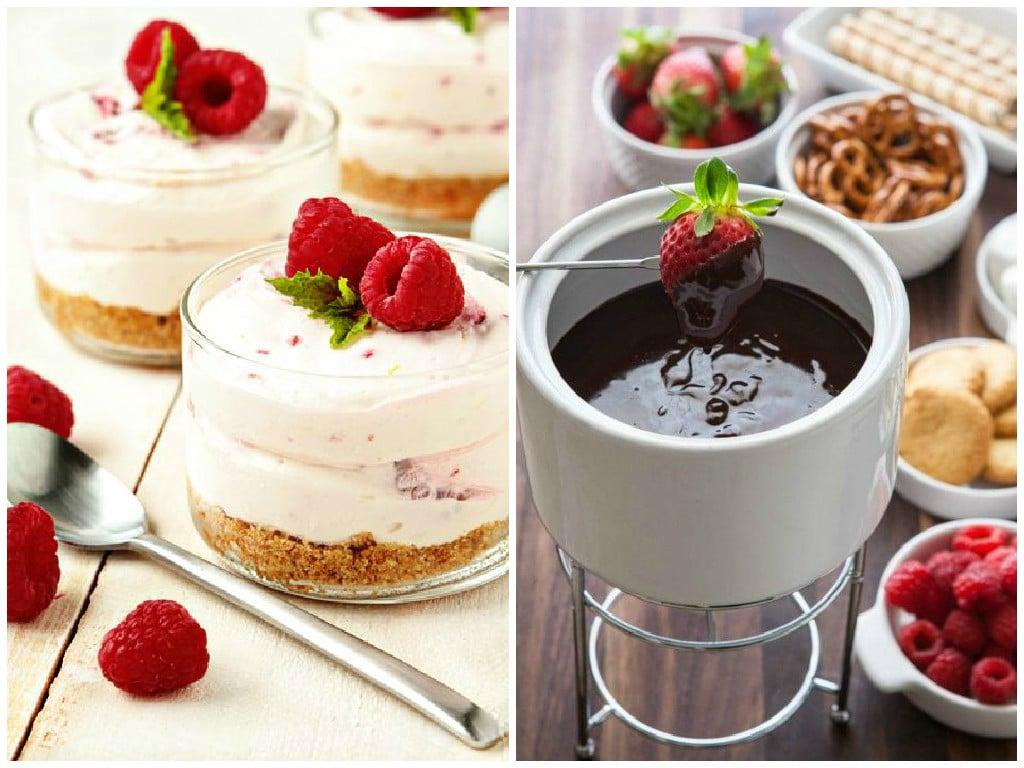 5 mennyei desszert sütés és konyhai tudás nélkül