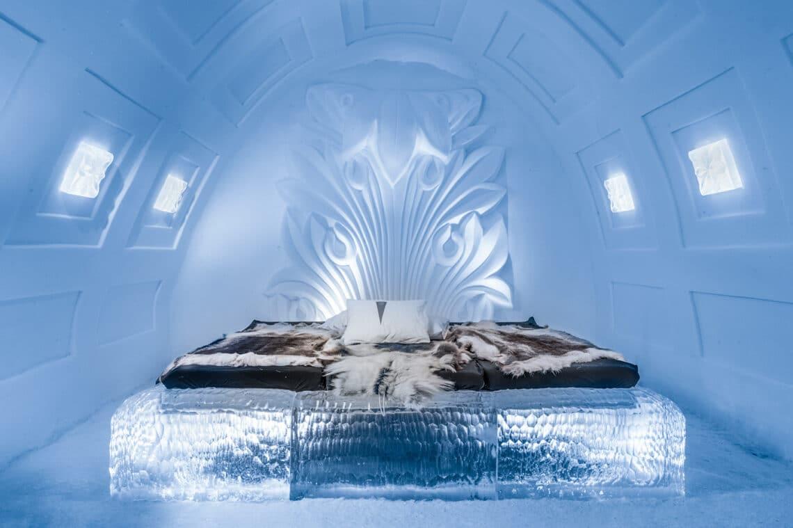 Jégvarázs a valóságban – Dermesztően szép jéghotelek a nagyvilágból