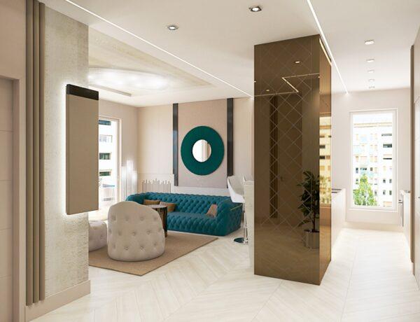 Káprázatos luxus átalakításon ment keresztül egy lakóparki lakás