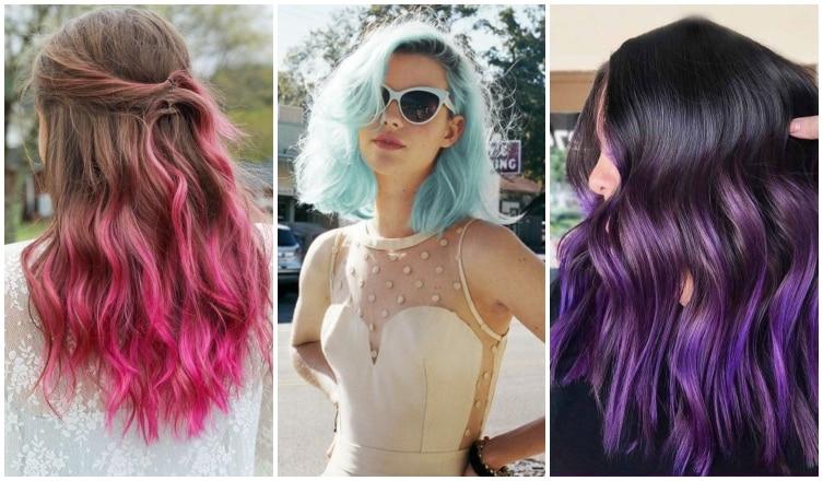 Kék, zöld, pink: hódítanak a színes frizurák – Mutatjuk, hogyan hordd őket!