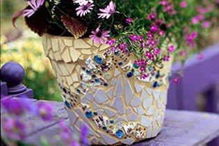 Készíts kerti mozaikokat